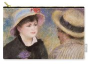 Boating Couple  Said To Be Aline Charigot And Renoir      Carry-all Pouch