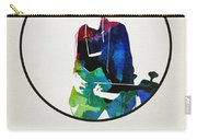 Bob Dylan Watercolor Carry-all Pouch