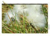 Bog Cotton On The Moor Carry-all Pouch