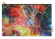 Bogota Colombia Watercolor City Street Map Carry-all Pouch