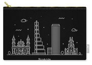 Bogota Skyline Travel Poster Carry-all Pouch
