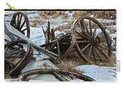 Boneyard Carry-all Pouch by Ann E Robson