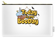 Boo Day Halloween Happy Birthday Cake Ghost Light Carry-all Pouch