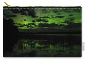 Boot Lake Green And Purple Northern Lights  Carry-all Pouch