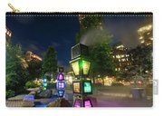 Boston Colored Steam Lights Boston Ma Rose Kennedy Greenway Steamy Carry-all Pouch