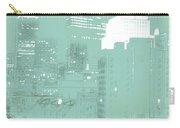 Boston Massachusetts Night Scene Digital Art Carry-all Pouch