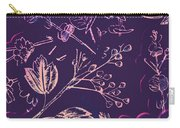Botanical Branching Carry-all Pouch