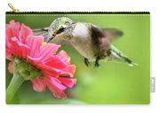 Botanical Hummingbird Carry-all Pouch