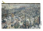Boulevard Des Italiens - Morning, Sunlight, 1897 Carry-all Pouch