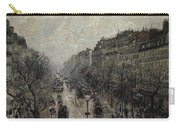 Boulevard Montmartre - Foggy Morning, 1987 Carry-all Pouch