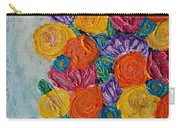 Bouquet In Blue Carry-all Pouch