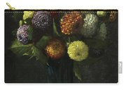Bouquet Of Dahlias Carry-all Pouch
