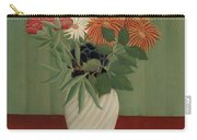 Bouquet Of Flowers With China Asters And Tokyos, 1910 Carry-all Pouch