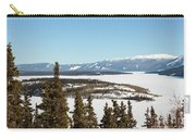 Bove Island On Windy Arm In Tagish Lake Yukon Carry-all Pouch