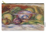 Bowl, Figs, And Apples, 1916 Carry-all Pouch