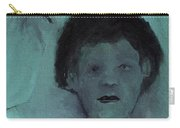 Boy With A Bird Carry-all Pouch