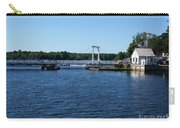 Brass Point Bridge On The Rideau Canal Ontario Carry-all Pouch