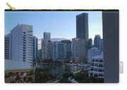 Brickell Key Miami Florida Carry-all Pouch
