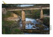 Bridge At Council Hill Station Carry-all Pouch