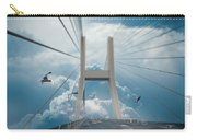 Bridge In The Clouds Carry-all Pouch