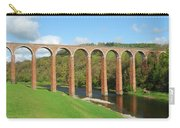 bridge over river Tweed near Melrose Carry-all Pouch