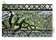 Bridge Through Live Oaks Carry-all Pouch