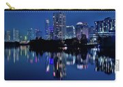Bright Blue Hour In Austin Carry-all Pouch