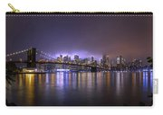 Bright Lights Of New York II Carry-all Pouch