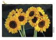 Bright Yellow Sunflowers Carry-all Pouch