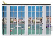 Brilliant Bermuda Cityscape Windows Carry-all Pouch