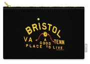 Bristol Sign And The Moon Carry-all Pouch
