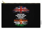 British Grown With Nigerien Roots Carry-all Pouch