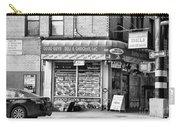 Brooklyn Deli Black White  Carry-all Pouch