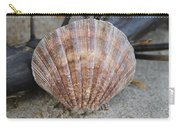 Brown Cockle Shell And Driftwood 2 Carry-all Pouch