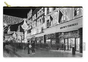 Brown Thomas On Grafton Street At Night - Dublin Carry-all Pouch by Barry O Carroll