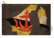 Brunei Country Flag Map Carry-all Pouch