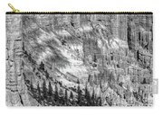 Bryce Canyon National Park Bw Carry-all Pouch