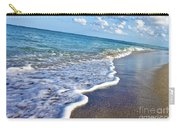 Bubbly Waves Carry-all Pouch by Jimmy Clark