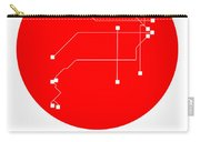 Buenos Aires Red Subway Map Carry-all Pouch