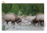 Bull Elk Battle Rocky Mountain National Park Carry-all Pouch