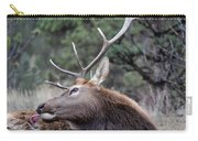 Bull Elk Grooms Himself Carry-all Pouch