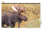 Bull Moose In Fall Colors Carry-all Pouch
