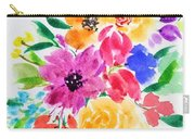 Bunch Of Flowers Carry-all Pouch