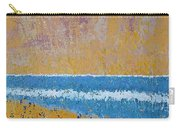 Burkes Beach Original Painting Carry-all Pouch