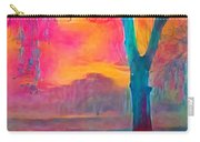 Bush Sunset  Carry-all Pouch by Chris Armytage