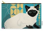 Buster The Shelter Cat Carry-all Pouch