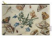 Butterflies, Clams, Insects Carry-all Pouch