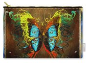 Butterfly Abstract Carry-all Pouch