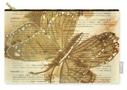 Butterfly Antiquities Carry-all Pouch