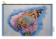 Butterfly At Lunch Carry-all Pouch